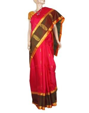 Kanchivaram Pure Silk Saree PS56