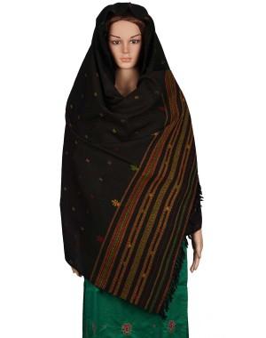 Megha Art & Crafts Woolen Hand Wooven Shawl MAC125