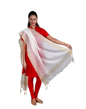 Monga Silk Jamdani Dupatta BB17