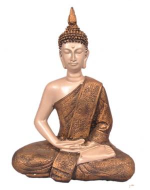 Buddha Sitting Postures Medium Seashell GS17