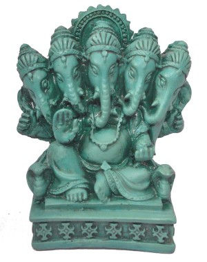 Small Five Head Ganesha GS21