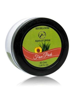 Biobloom Face Pack - Apricot And Aloe Vera BIO152
