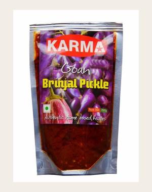 Karma's Brinjal Pickle KF261