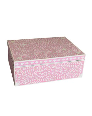 Bone Inlay Box SAN229