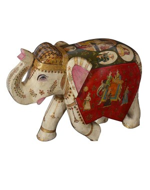 Figure Painting Elephant SAN239