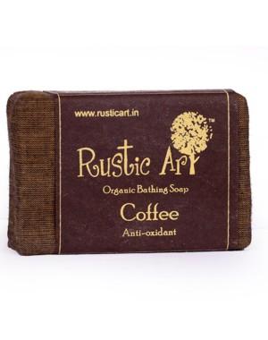 Rustic Art Organic Coffee Soap RA11 (Pack of 2)