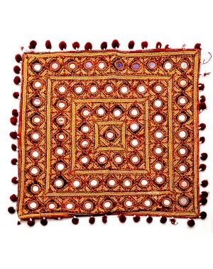 Kutch Qasab Big Mirror Cushion Cover KQ56