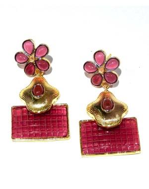 Ishi Collection Metallic Brass Earring IC04