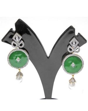 Ishi Collection Metallic Brass Earring IC08