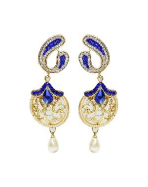 Ishi Collection Metallic Brass Earring IC112