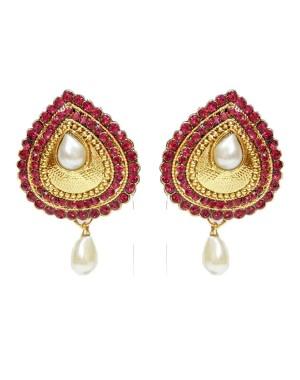 Ishi Collection Metallic Brass Earring IC114