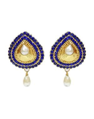 Ishi Collection Metallic Brass Earring IC115