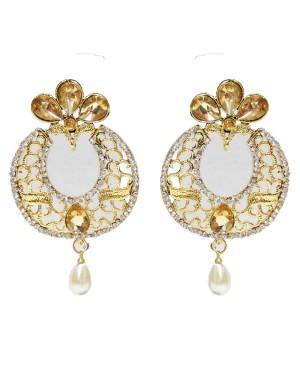 Ishi Collection Metallic Brass Earring IC121