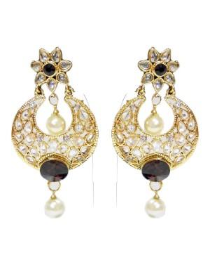 Ishi Collection Metallic Brass Earring IC123