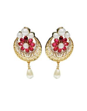 Ishi Collection Metallic Brass Earring IC130