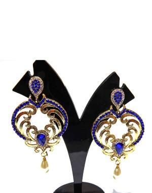 Ishi Collection Metallic Brass Earring IC21