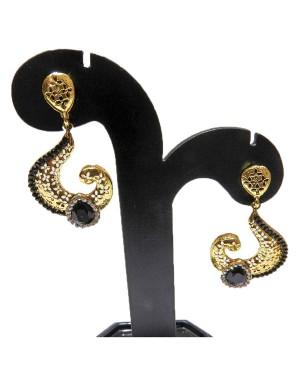 Ishi Collection Metallic Brass Earring IC26