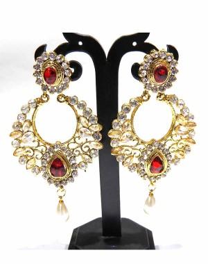 Ishi Collection Metallic Brass Earring IC29