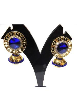 Ishi Collection Metallic Brass Earring IC35