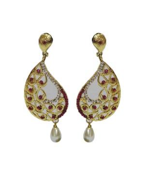 Ishi Collection Metallic Brass Earring IC94