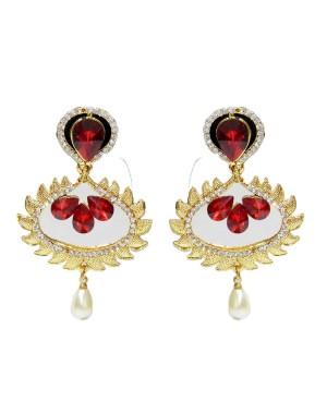 Ishi Collection Metallic Brass Earring IC99