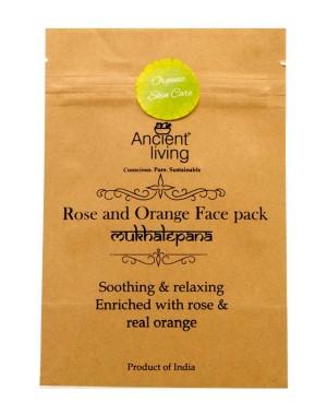 Ancient Living Rose And Orange Face Pack AL59