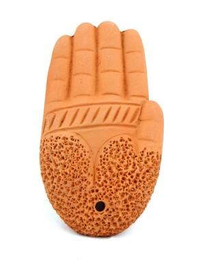 Terracotta Foot Scrubber SI21