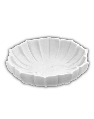White Marble Bowl/Urli HH22