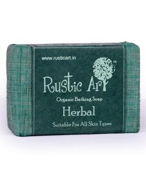 Rustic Art Organic Herbal Soap RA02 (Pack of 2)
