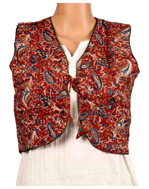 Two In One Printed Half Jacket OH7
