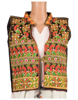 Floral Print Embroidered Jacket OH12