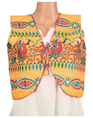 Floral Print Embroidered Jacket OH13