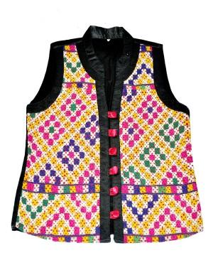 Kutch Qasab Kareena Jacket With Gajji Silk KQ15