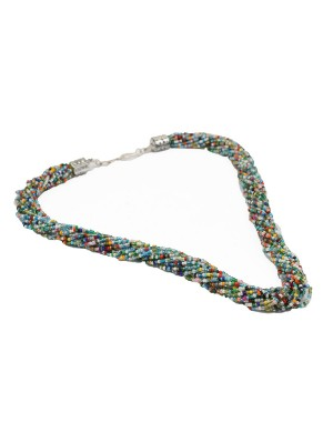 Multicolor Small Beads Necklace AK18