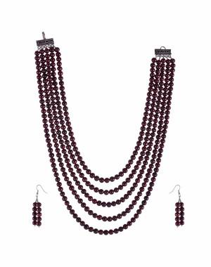 Beads Necklace Set JM67
