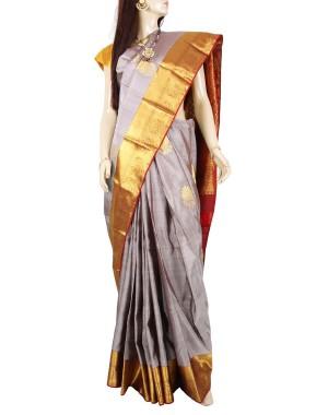Kanchivaram Pure Silk Saree PS02