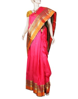 Kanchivaram Pure Silk Saree PS19