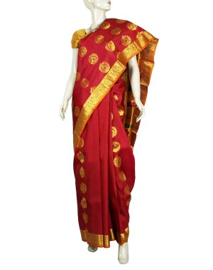 Kanchivaram Pure Silk Saree PS23