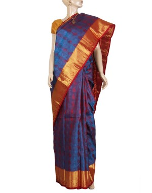 Kanchivaram Pure Silk Saree PS34