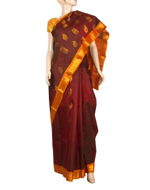 Kanchivaram Pure Silk Saree PS35