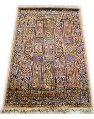 Multicolor Bakhtiari Kashmiri Carpet KCE08