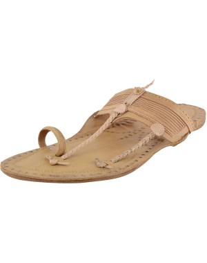 Kolhapuri Men's Natural Leather kapshi Chappal KCM5