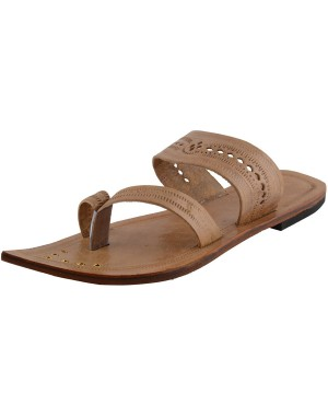 Kolhapuri Men's Leather Chappal KCM36