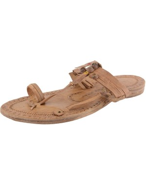 Kolhapuri Men's Leather Chappal KCM3