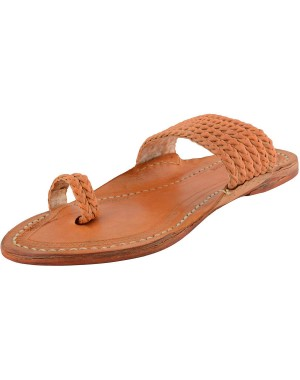 Kolhapuri Men's Leather Chappal KCM10