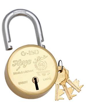 Eight Levers Double Locking Padlock Aligarh