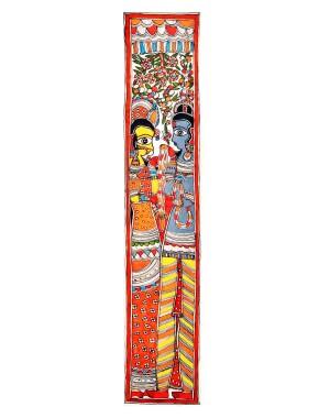 Rama & Sita Painting
