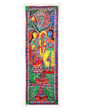 Rama-Sita Marriage Painting