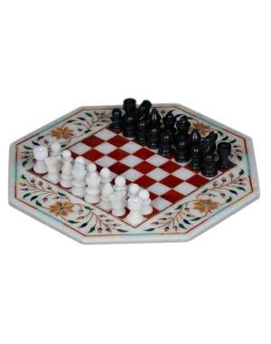 Marble Inlay Chess Set KS355