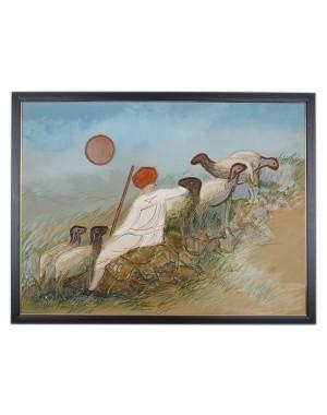 Kutch Culture Mud Painting RK180